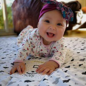 Bandeau cheveux bébé
